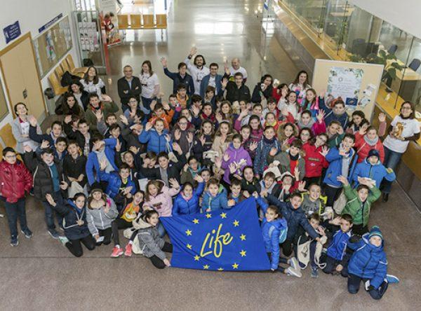 Workshop with the Liceo Castilla Maristas School from Burgos