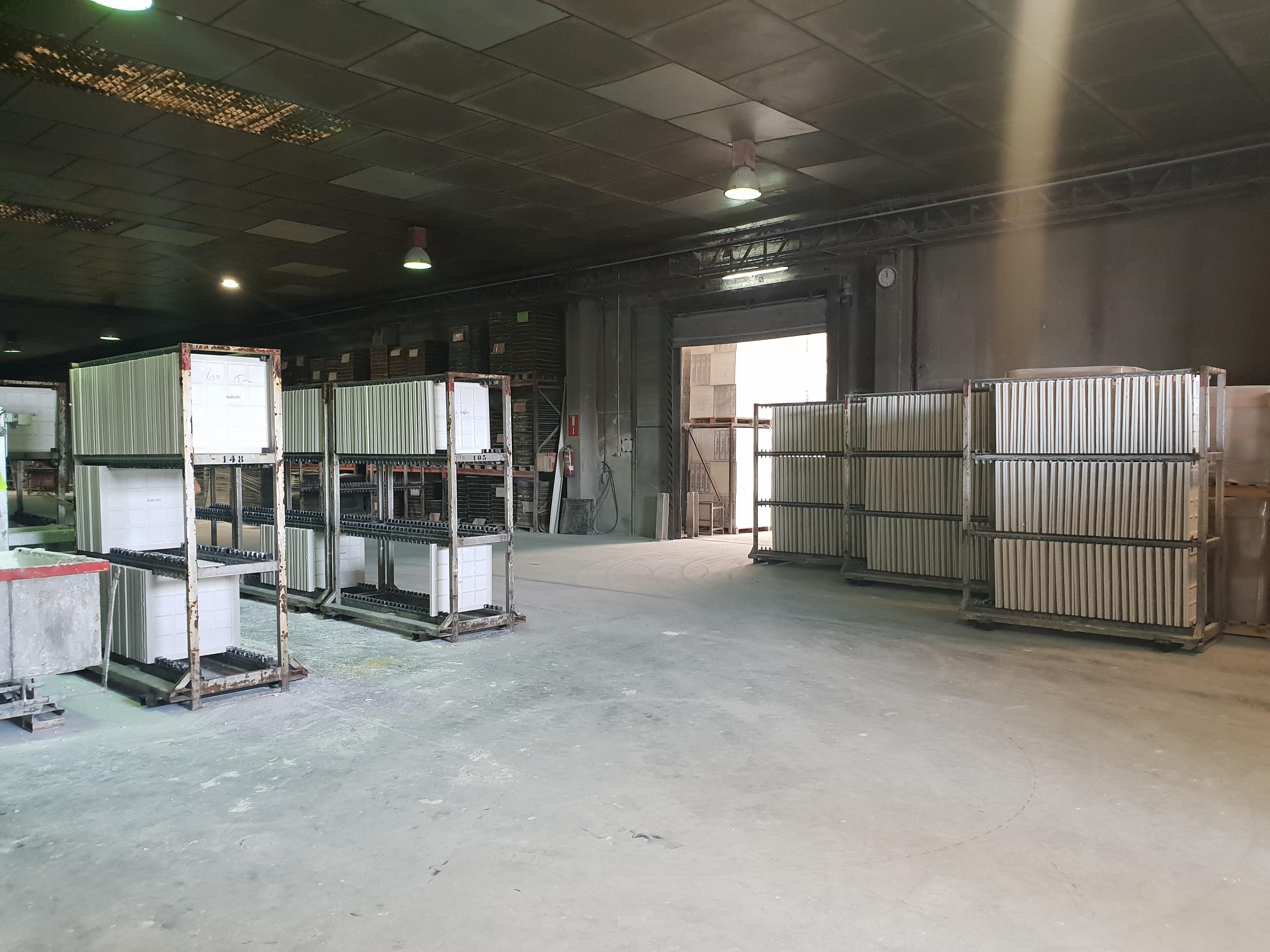 Visita de Exergy a las Instalaciones de producción de Yesyforma Almacén