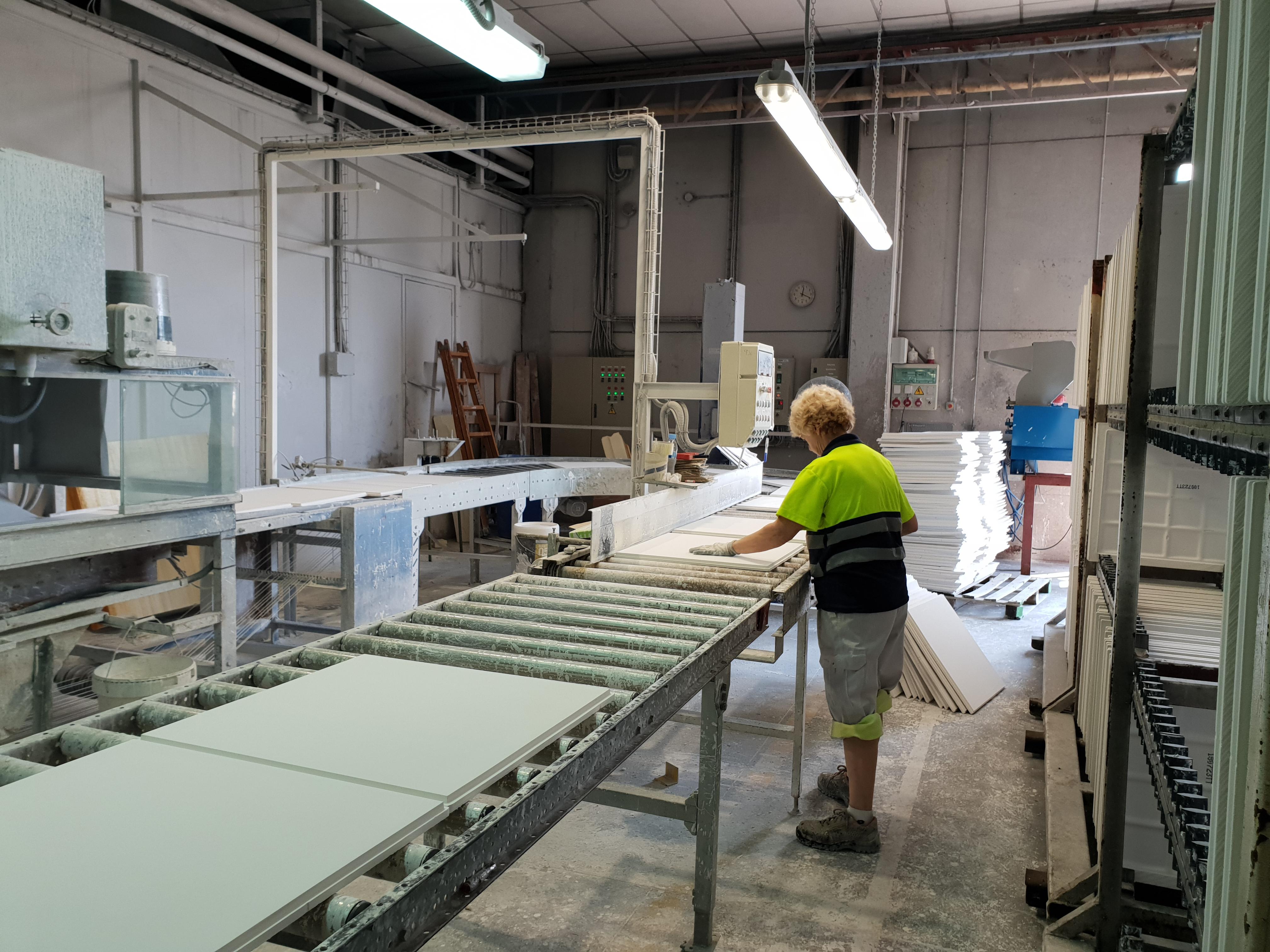 Visita de Exergy a las Instalaciones de producción de Yesyforma Calidad
