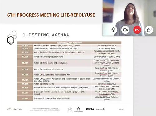 6TH PROGRESS MEETING LIFE-REPOLYUSE