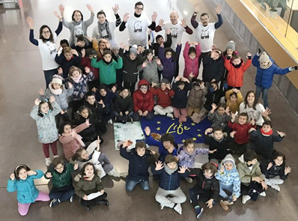 The European Life-Repolyuse Project promotes research and recycling among primary school students