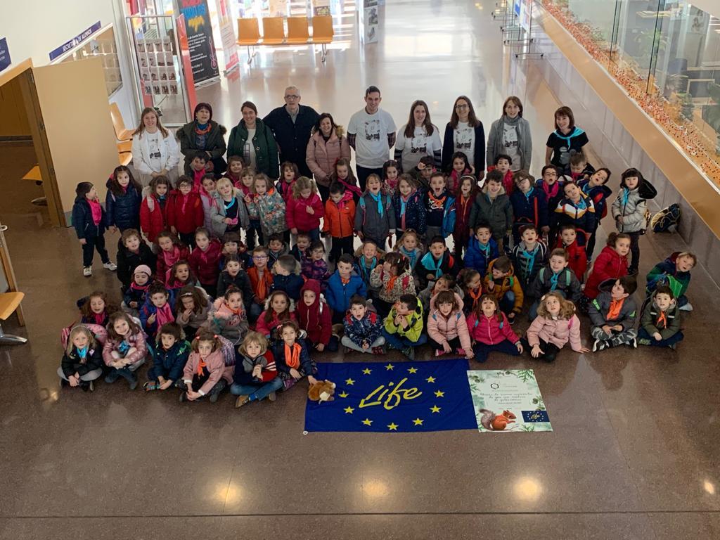 Estudiantes de 3º de infantil del colegio Miguel Delibes conocen el proyecto europeo LIFE-REPOLYUSE - 03