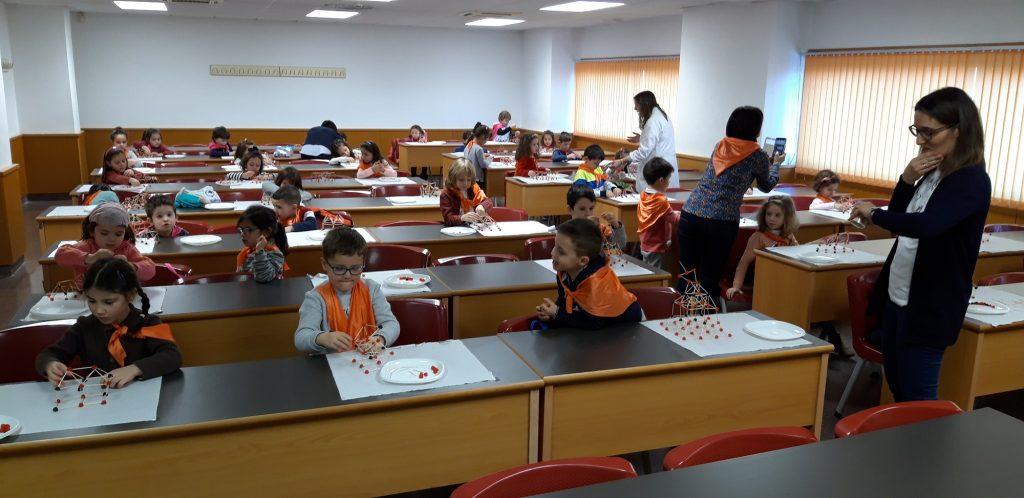 Estudiantes de 3º de infantil del colegio Miguel Delibes conocen el proyecto europeo LIFE-REPOLYUSE - 04