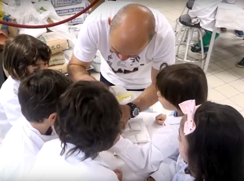 Fomentando la vocación científica de los más pequeños