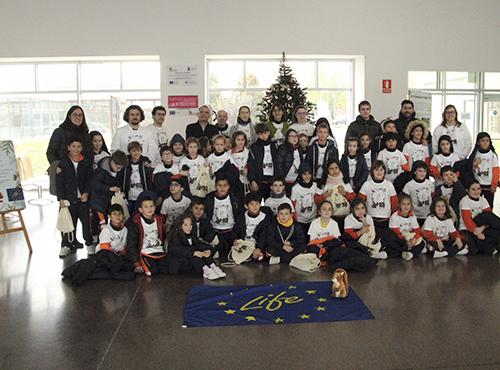 """Workshop with the School """"La Visitación de Nuestra Señora """"Saldaña"""""""