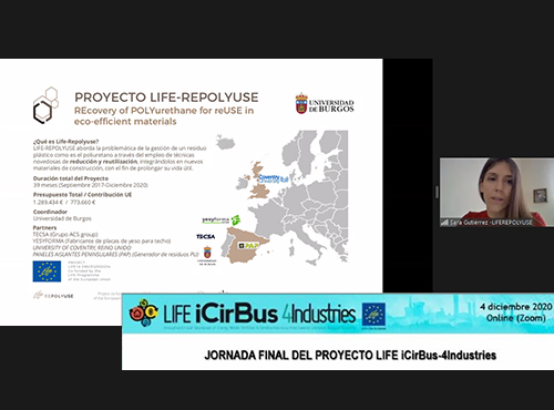 Final session of the Life Icibus-4 industries project – On line