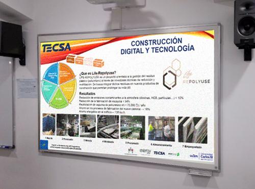 TECSA presenta el Proyecto Life- Repolyuse