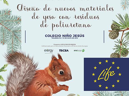 Workshop with the Niño Jesús  School from Burgos